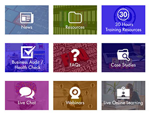 Gloucestershire Business Support Grid Images