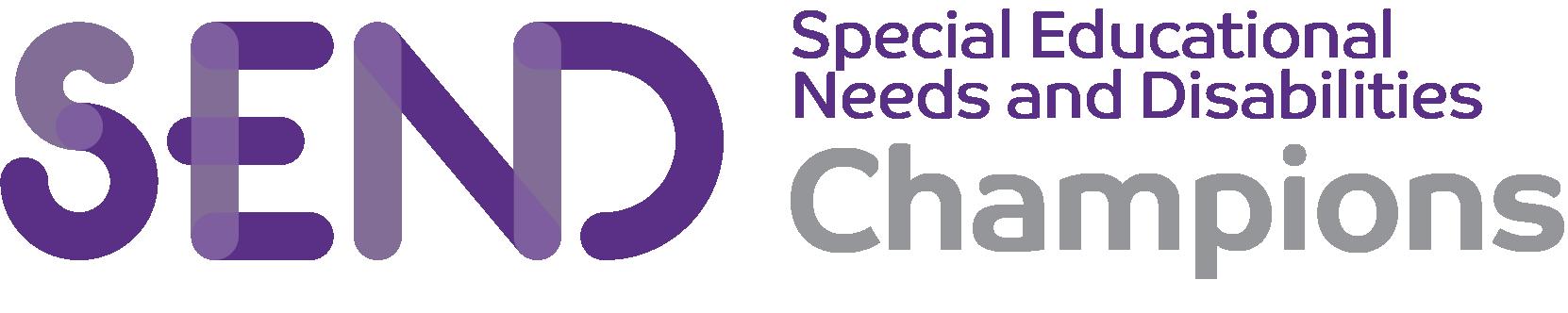 SEND champions logo
